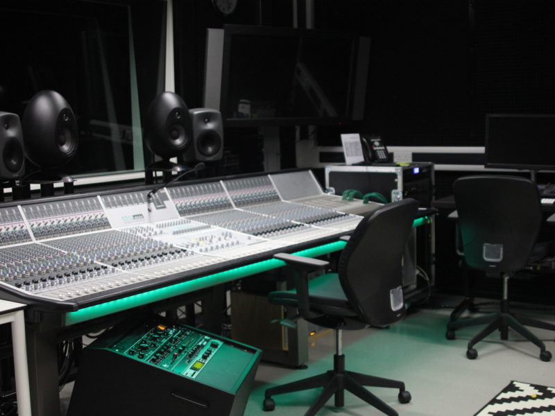 Check out our Recording Studio image gallery